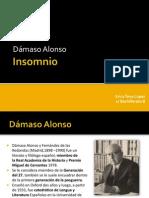 Insomnio-Dámaso alonso powerpoint
