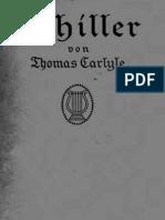 Thomas Carlyle - Schiller