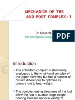 Ankle and Foot Biomechanics 1- Structure