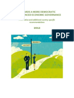Alternative and Additional CSR 2012