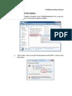 MYSQL Installation Manual