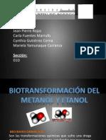 Biotransformacion de Etanol, Metanol..