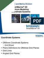 TSMM1013 SmartMarine 3D Offshore Modeling 2_CoordinateSystems