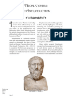Neoplatonism Intro Digest VOL 90 0512