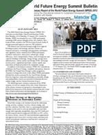 WFES 12 Summary