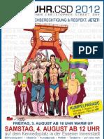 RUHR-CSD Programm 2012