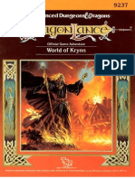 TSR 9237 - DL16 - World of Krynn