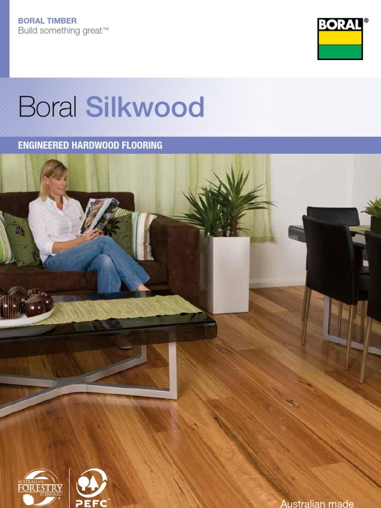 Boral Silkwood Brochure Whole Range Flooring Lumber