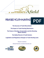 Families Afield Youth Hunting Report - 2005
