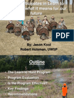 Hunting Heritage - Who Participates in Learn to Hunt and What it Means for Our Future - 2010
