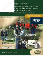 NSSF - Understanding Activities that Compete with Hunting and Target Shooting - 2012