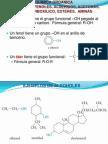 Quimica Organica Alcoholes Fenoles Aldehiods Acetonas Ac Carboxilicos Esteres Aminas
