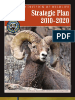 Colorado Division of Wildlife Strategic Plan 2010 - 2020