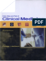 461 Color Atlas and Text of Clinical Medicine 2nd Ed Forbes Jackson