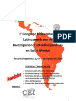 1er Congreso Universitario Rosario Argentina