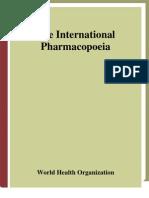 WHO Pharmacopeia