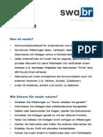 swabr Fact Sheet DE