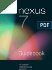 Tablet Google Nexus7 con SO 4.1 Jelly Bean