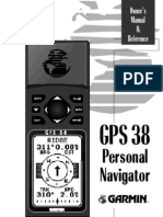 GPS 38 Owners Manual