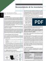 NIC 2 – Reconocimiento de los inventarios
