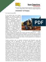 Carlos Pereyra M-Golpe de Estado Parlamentario en Paraguay