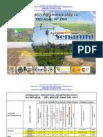 3er Decadal Nro. 280-Junio 2012-Eco Regiones Del Norte Del Dpto. de La Paz, Pando y Beni