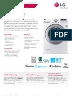 LG WM2250 Washer Spec Sheet