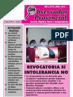 Observador Provincial - Abril 2012
