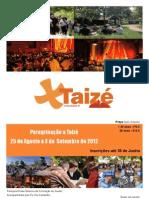 Poster Taizé