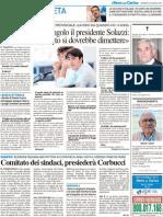 Gostoli mette all'angolo il presidente Solazzi