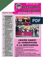 Observador Provincial - Mayo 2012