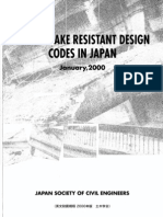 Earthquake Resistant Design Codes in Japan 2000