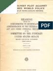 Communist Plot Against Free World Police 1961