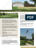 Hannibal Country Club July Newsletter