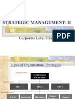 Strategic Management II