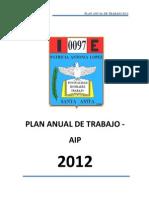 Plan Anual de Trabajo 2011 Aip-lach