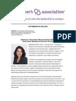 Susan Spalding Press Release-AlzMN-ND
