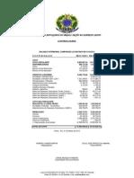 Prestação de Contas Março 2012
