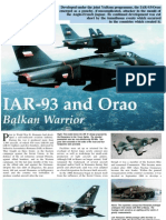 IAR-93 and Orao Balkan Warrior