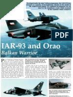 IAR-93 and Orao Balkan Warrior