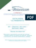 001 - Deportes y Exteriores - Ejercicios y Salud - Equipo de Deportes - UT