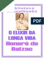 Balzac - O Elixir Da Longa Vida