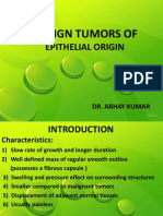 Benign and Malignant Tumors of Oral Cavity