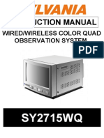 SY2715WQ Instruction Manual
