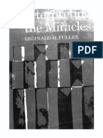 Interpreting the Miracles (1963) Reginard H. Fuller