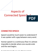 Aspects of Connected Speech 1