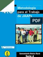 Metodologia Para El Trabajado de Junta Administradora de Saneamiento JAAS