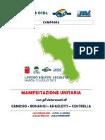 Volantino e Documento Manifestazione Del 02 Luglio 2012