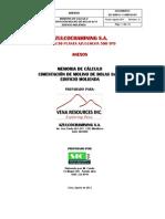 CIMENTACIÓN MOLINO DE BOLAS  8X10