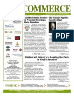 Commerce Newsletter July 2012